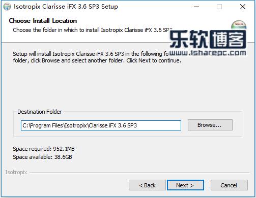Isotropix Clarisse iFX 3.6 SP3安装