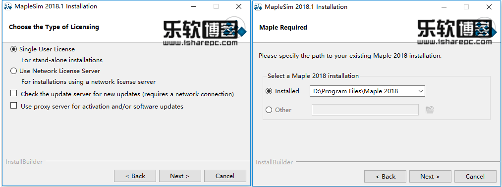 Maplesoft MapleSim 2018.1安装