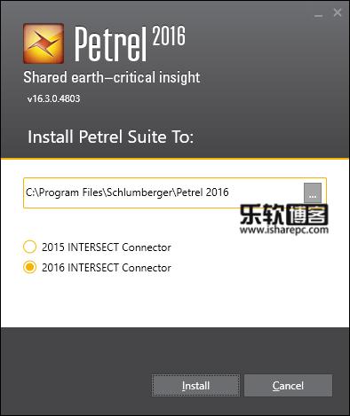 Schlumberger Petrel 2016.3