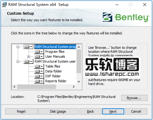 RAM Structural System CONNECT Edition 15.11.00.26破解安装
