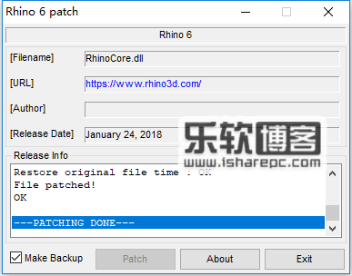 Rhinoceros 6.5注册机
