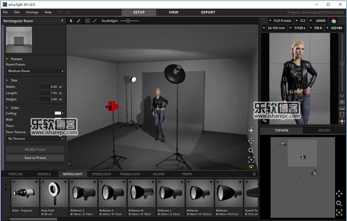set.a.light 3D STUDIO 2.00.09破解版