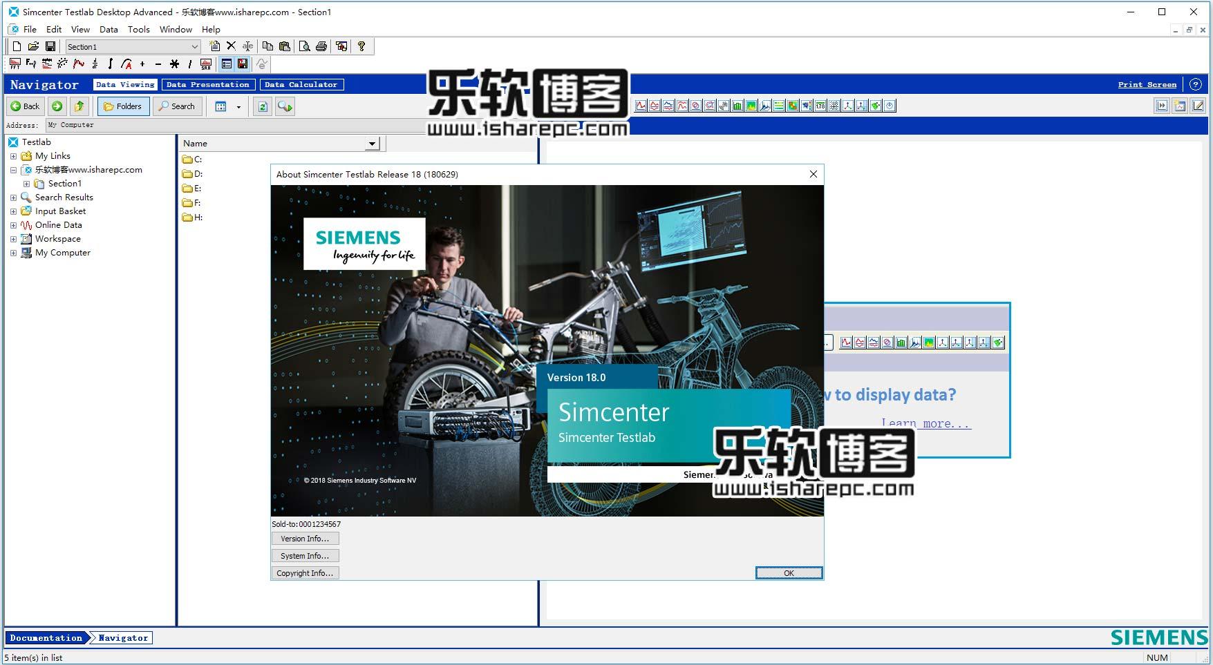 Siemens Simcenter TestLab 18.0破解版