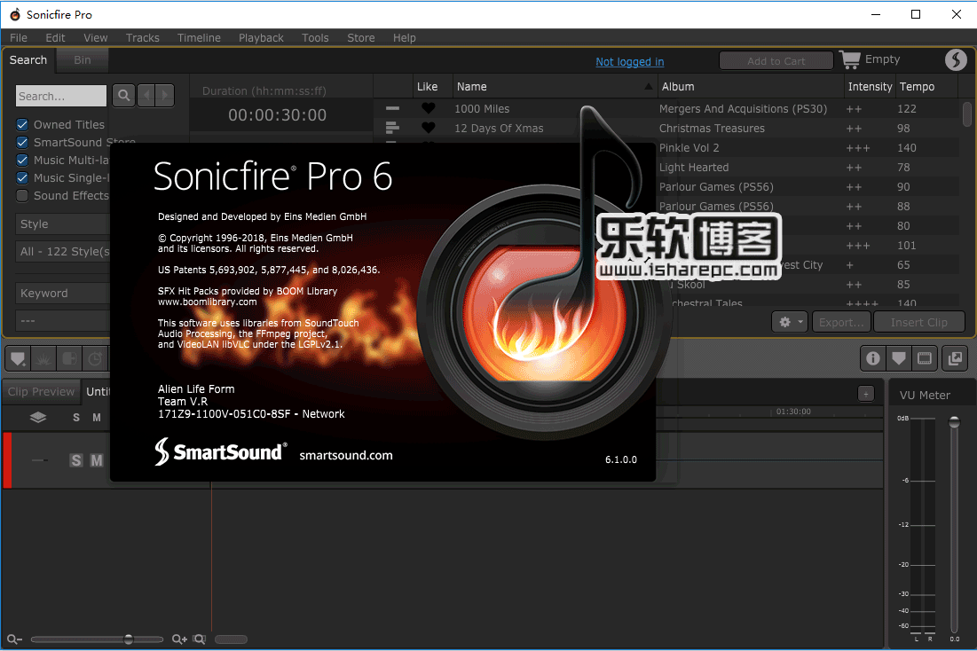 SmartSound SonicFire Pro v6.1破解版